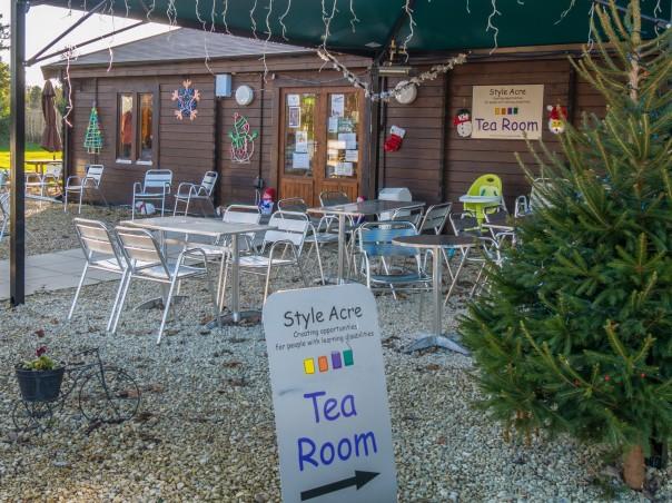 Style Acre tea room
